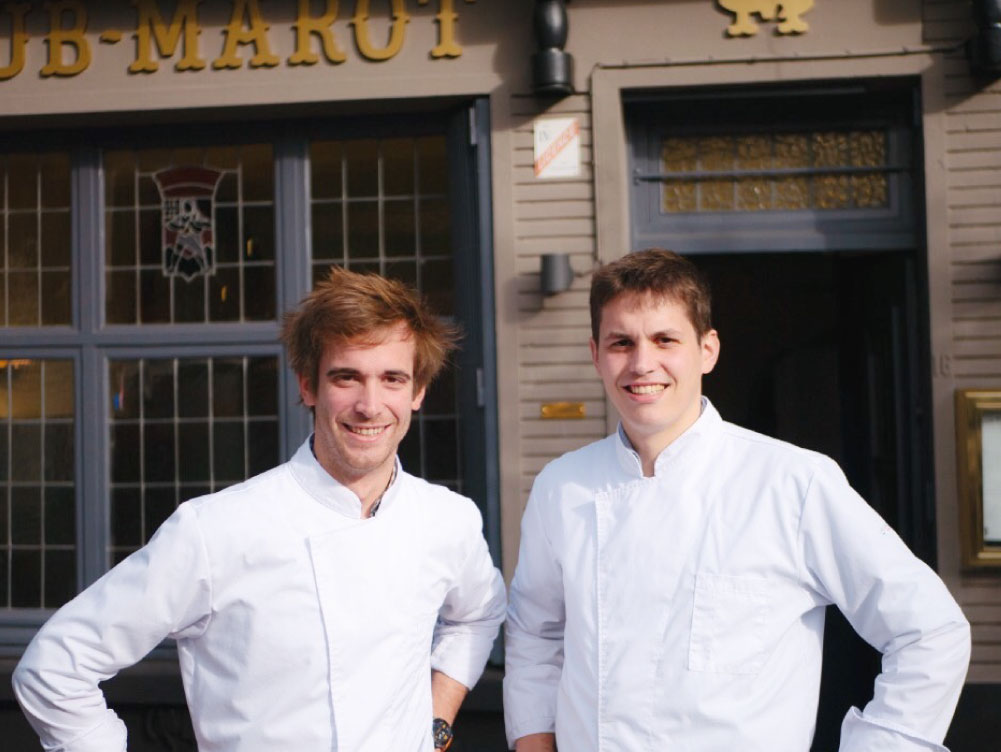 Augustin & Antoine Marot - Restaurant gastronomique Lille