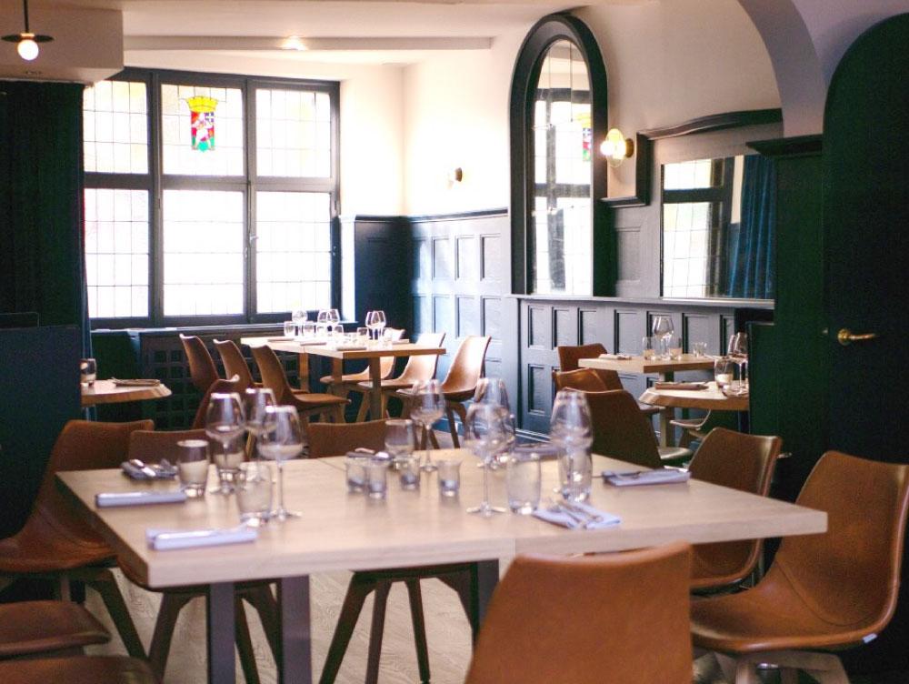 Salle du restaurant de lille - Club Marot